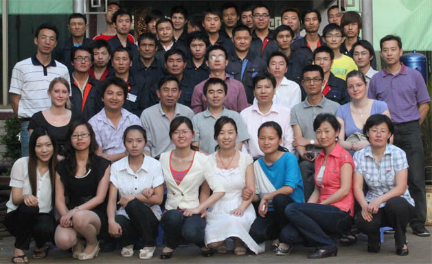 Group picture of Focusun employees.